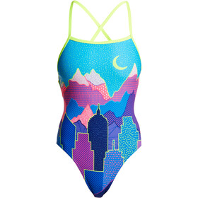 Funkita Strapped In One Piece Swimsuit Dame metropolis